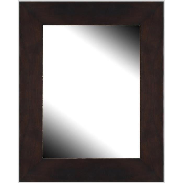 brio miroir milano weng 40x50 cm achat vente miroir cdiscount