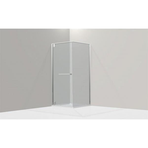 Porte de douche pivotante avec paroi lat rale achat vente porte de douche - Porte de douche occasion ...