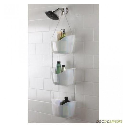 Paniers pour accessoires de douche umbra achat vente porte accessoire paniers pour for Accessoire douche aubade