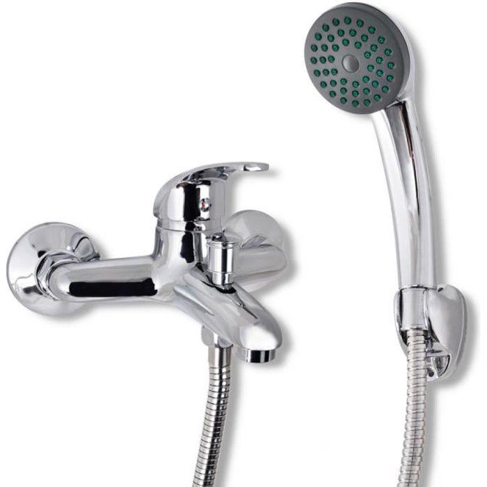 mitigeur avec pomme de douche tuyaux inclus achat vente robinetterie de salle de bain. Black Bedroom Furniture Sets. Home Design Ideas