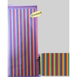 Rideau de porte lanieres achat vente rideau de porte - Rideau de porte exterieur plastique ...
