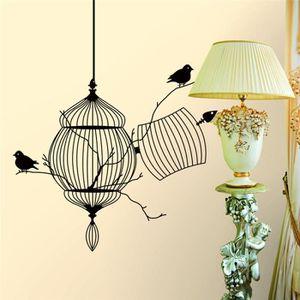 Decoration murale cage oiseaux achat vente decoration for Cage a oiseaux decorative pas cher