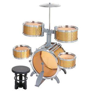 INSTRUMENT POUR JEU Enfants Jazz Drum Set Jouet Musical Instrument pou