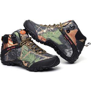CHAUSSURES DE RANDONNÉE Imperméable Chaussures de Randonnée Hautes homme f