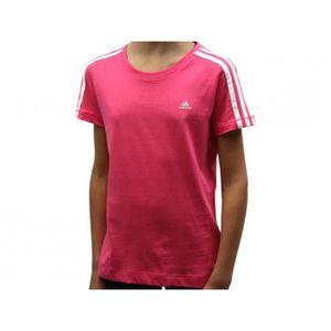 T-SHIRT YG ESS TEE - Tee shirt Fille Adidas