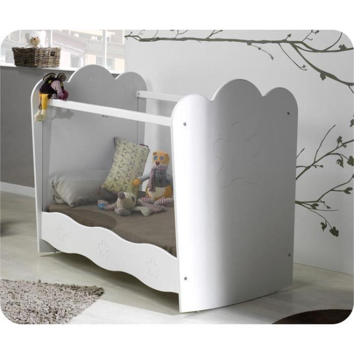 eb lit b b lin a blanc plexi achat vente lit b b 2009986772923 cdiscount. Black Bedroom Furniture Sets. Home Design Ideas