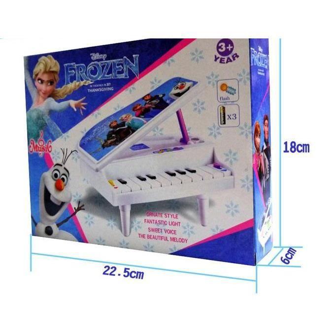 mini piano jouet reine des neiges musique enfant achat vente instrument de musique cdiscount. Black Bedroom Furniture Sets. Home Design Ideas