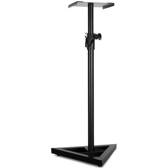 auna monitor stand 5 pied pour enceinte support d. Black Bedroom Furniture Sets. Home Design Ideas