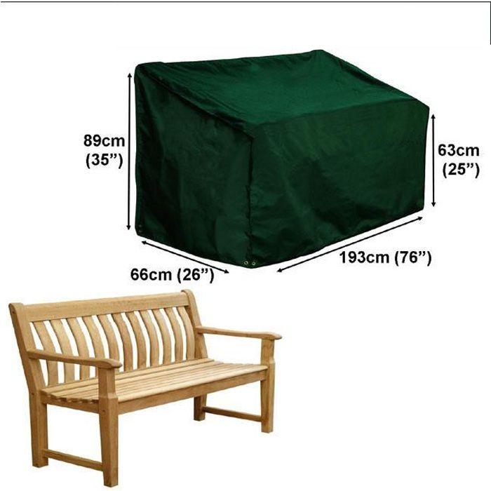 housse pour banc de jardin 3 4 places gamme confort achat vente housse meuble jardin housse. Black Bedroom Furniture Sets. Home Design Ideas