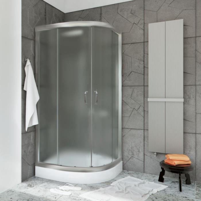 90x90cm de haute qualit double angle de la porte cabine de douche ovale hauteur enceinte. Black Bedroom Furniture Sets. Home Design Ideas