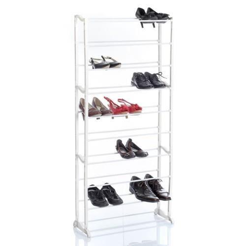 Rangement chaussure blanc - Range chaussure conforama ...