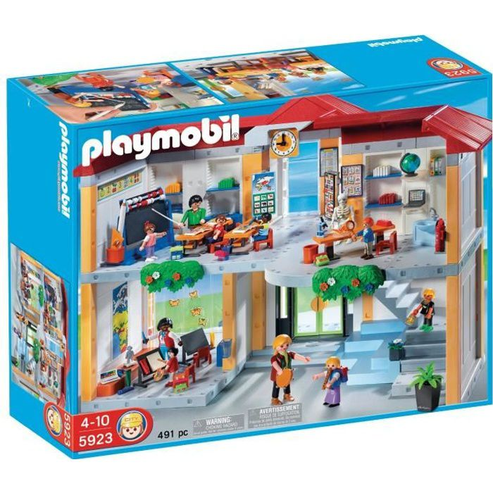 juniors jeux et jouets par type playmobil l ecole