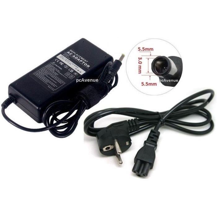 chargeur pc portable compatible samsung np350e7c s06de. Black Bedroom Furniture Sets. Home Design Ideas