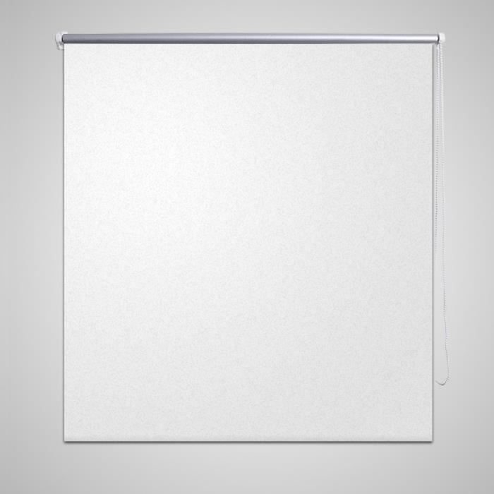 Store enrouleur occultant 120 x 175 cm blanc achat for Store enrouleur occultant fenetre pvc