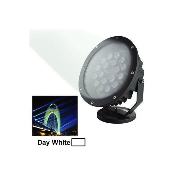 Projecteur led blanc jour ext rieur clairage jardin for Eclairage projecteur exterieur