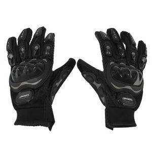 PROTÈGE-DOIGTS Paire Noir Gants Doigt Complet Protection M Moto V