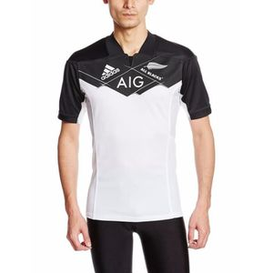 MAILLOT DE RUGBY MAILLOT ALL BLACK EXTERIEUR BLANC 2016/17