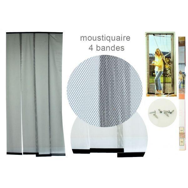 Moustiquaire de porte fonctionnelle avec ses achat for Porte fenetre avec moustiquaire