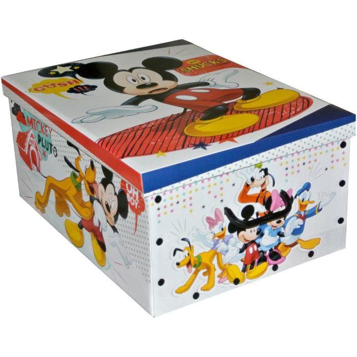 grande boite rangement coffre jouets enfant d achat vente boite de rangement cdiscount. Black Bedroom Furniture Sets. Home Design Ideas