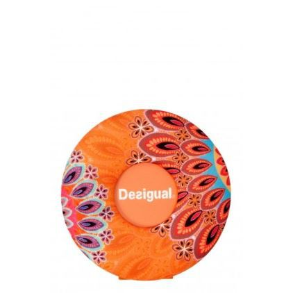 Cadre photo rond desigual round orange nc coule achat - Cadre photo rond ...