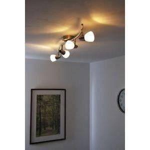luminaire lustre lampe 4 spots sur rail plafonnier achat. Black Bedroom Furniture Sets. Home Design Ideas