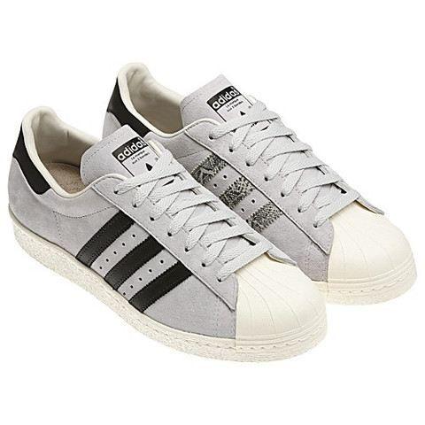 Adidas Grise Et Blanche