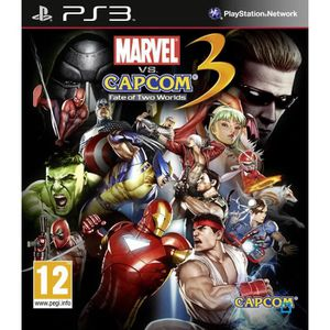 JEU PS3 MARVEL VS CAPCOM 3 FATE OF TWO WORLDS / Jeu PS3