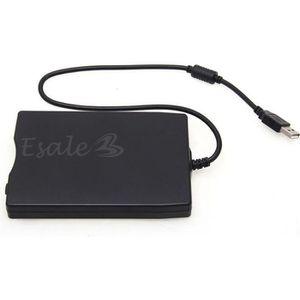 """LECTEUR DE DISQUETTE Lecteur de disquette Externe USB 3.5"""" 1.44Mo 2HD 2"""
