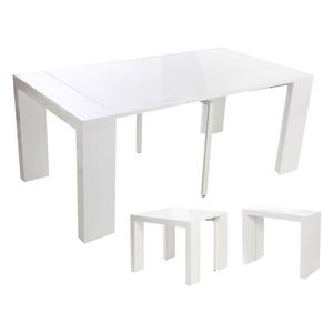 Table extensible 10 personne achat vente table - Table 2 personnes extensible ...