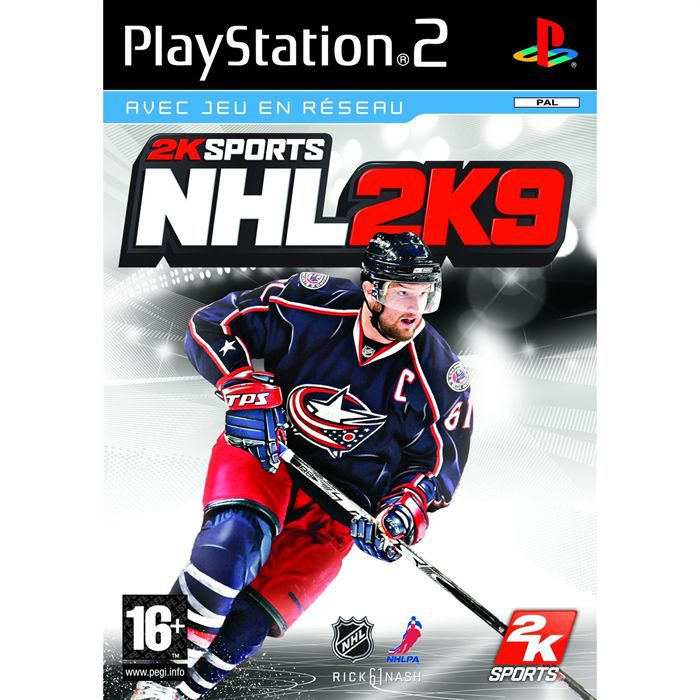 JEUX PS2 NHL 2K9 / JEU CONSOLE PS2