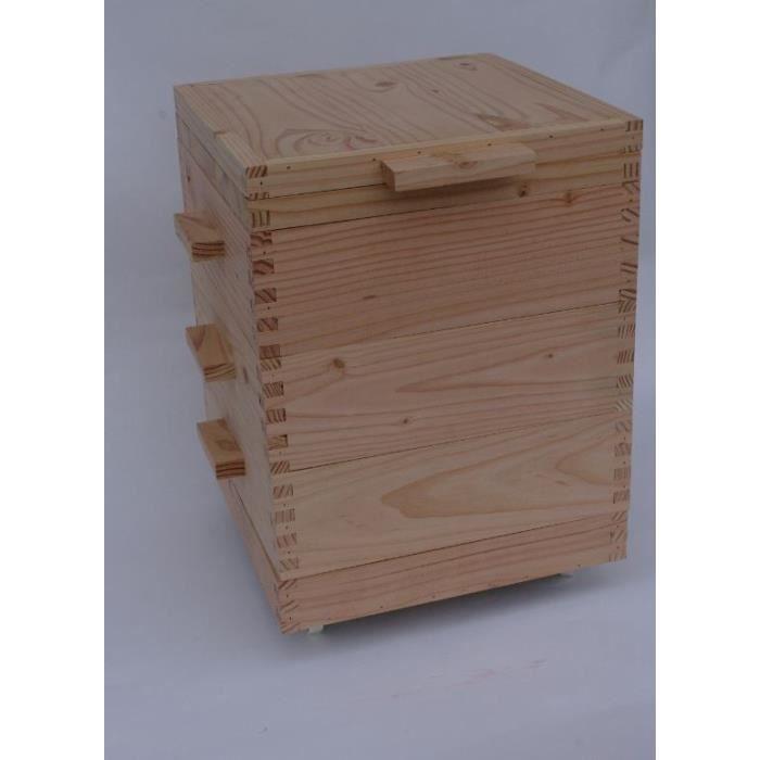 lombricomposteur bois appartement
