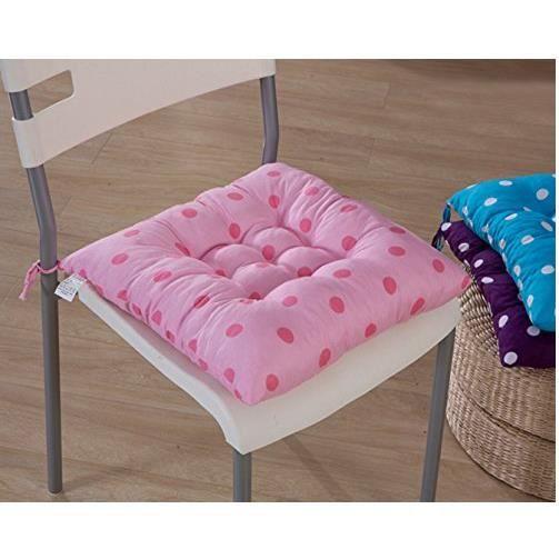 1 galettes de chaise coussin de chaise assise - Housse assise de chaise ...