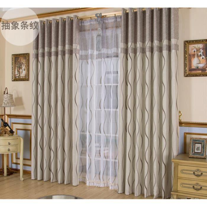 Rideaux ray s rideaux de la chambre de luxe rideaux - Rideaux originaux pour chambre ...
