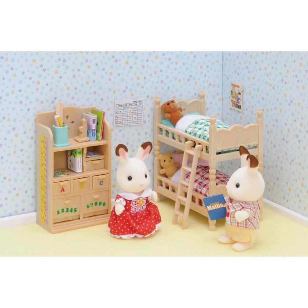 Sylvanian families 2926 mobilier chambre enfants achat for Achat chambre enfant