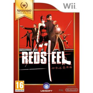 JEUX WII RED STEEL EDITION SPECIALE / Jeu console Wii