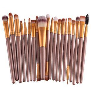 PINCEAUX DE MAQUILLAGE 20 pcs - outils Set pinceau de maquillage Set de m