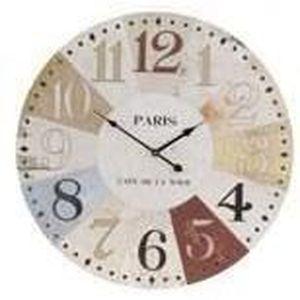 Le lit de vos r ves decoration murale design en bois for Horloge design bois