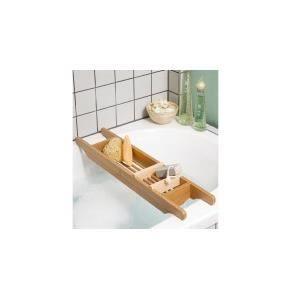 plateau pour bain en bambou achat vente porte accessoire bambou cdiscount. Black Bedroom Furniture Sets. Home Design Ideas