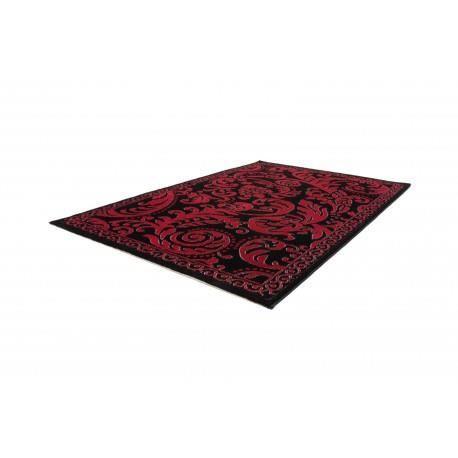 Tapis Rouge Brillant Pour Salon Contemporain Wagner 160x230cm Rouge Achat Vente Tapis