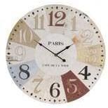 Horloge murale g ante design en bois 60 cm achat vente horloge bois c - Horloge 60 cm de diametre ...
