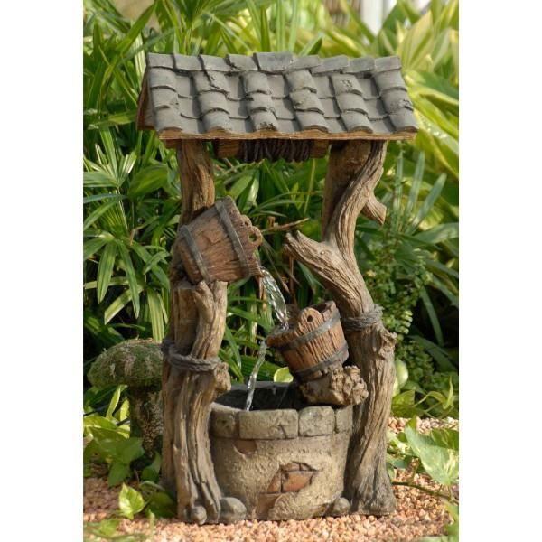Fontaine puit de jardin achat vente fontaine int rieure cdiscount - Vente de fontaine de jardin ...