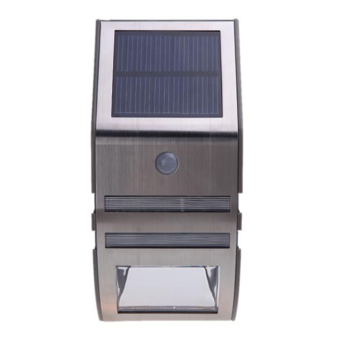 lampe lumi re clairage solaire avec 2 smd led pour voie. Black Bedroom Furniture Sets. Home Design Ideas