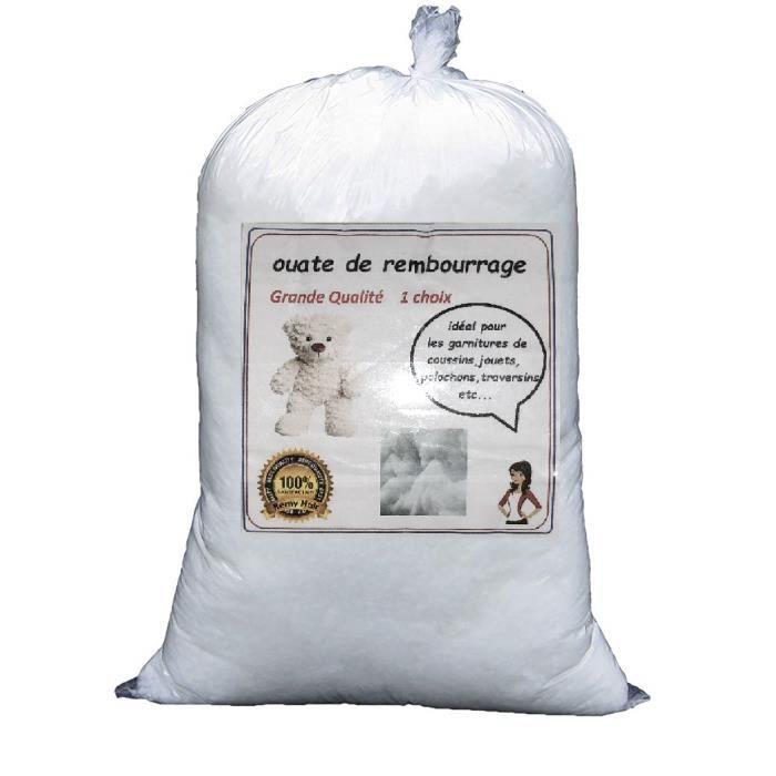 Ouate de rembourrage blanche en synth tique 1 kg lavable - Ouate de rembourrage gifi ...