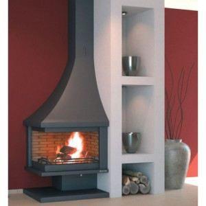 po le chemin e de coin feu ouvert achat vente po le insert foyer po le chemin e de. Black Bedroom Furniture Sets. Home Design Ideas