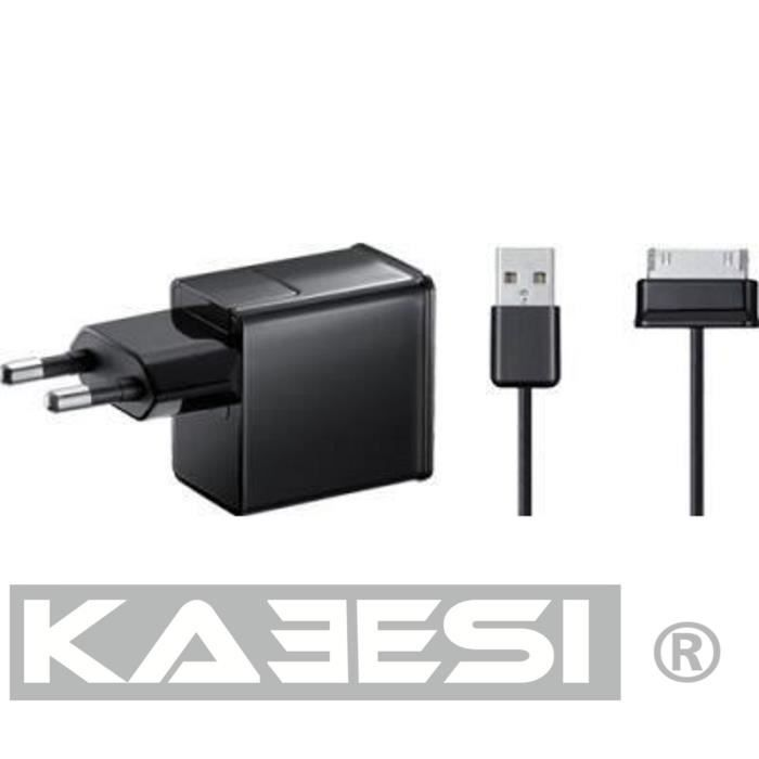 chargeur secteur cable samsung galaxy tab 2 10 1 prix. Black Bedroom Furniture Sets. Home Design Ideas