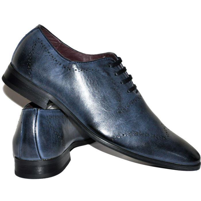 chaussures homme bleu marine ho bleu bleu fonc achat vente richelieu soldes d t. Black Bedroom Furniture Sets. Home Design Ideas