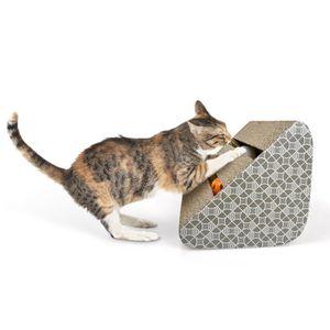 griffoir chat carton achat vente griffoir chat carton pas cher cdiscount. Black Bedroom Furniture Sets. Home Design Ideas