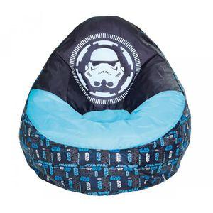 POUF - POIRE Pouf Gonflable Enfant Star Wars Bleu