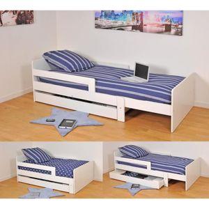 lit enfant achat vente lit enfant pas cher cdiscount. Black Bedroom Furniture Sets. Home Design Ideas