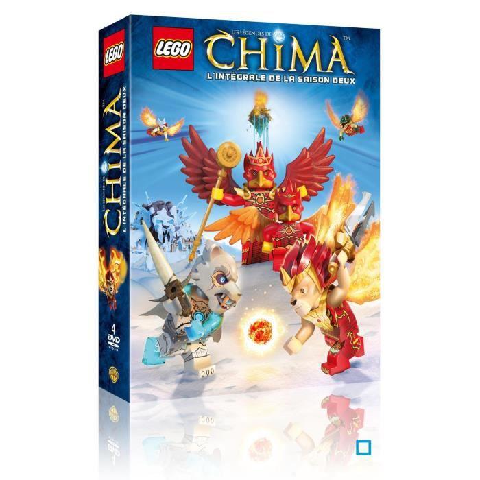 Dvd lego les l gendes de chima saison 2 en dvd dessin - Lego chima saison 2 ...
